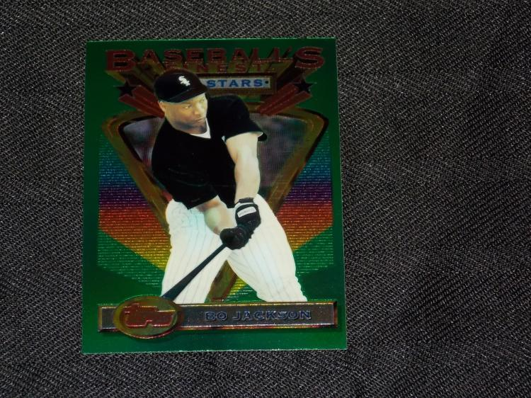 1993 Topps Baseballs Finest Card Bo Jackson White Sox