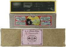 1910s-20s ZEPPELIN MAGIC LANTERN SLIDES & FILM