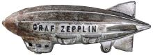 1930s CAST IRON GRAF ZEPPELIN TOY