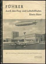 1937-39 HINDENBURG PRESS PHOTOS & 1939 GRAF ZEPPELIN II PUBLICATION