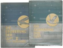 1930s TOBACCO CARDS 'DIE EROBERUNG DER LUFT' (VOLS I & II)