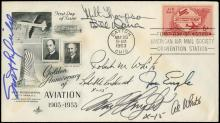 1953-78 HIGH ALTITUDE PILOTS SIGNED COVERS (x4)