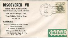 USA 1959-60 THREE BETTER SATELLITE COVERS