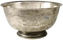 1969 INTERNATIONAL STERLING TUREEN GIFTED TO BUZZ ALDRIN