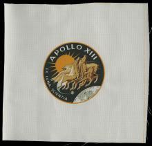 1970-71 APOLLO 13, 14 & 15 BETA CLOTH PATCHES