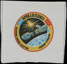 1971-75 APOLLO 16, 17 & APOLLO-SOYUZ BETA CLOTH PATCHES