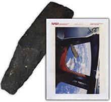 STS-52 1992 FLOWN HAWAIIAN 'ADZE' -- UNIQUE FLOWN ITEM