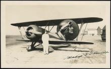 1930s AVIATRIX GLADYS O'DONNELL SIGNED PHOTO