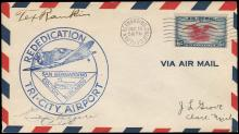 1931-39 EARLY AVIATOR SIGNED COVERS (x5)