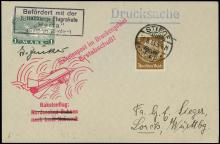 1933 TWO ZUCKER ROCKET MAIL COVERS