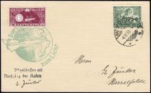 1933 STIEGE/GERHARD ZUCKER ROCKET MAIL CARD