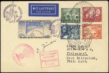 1934 HEXENTANZPLATZ/GERHARD ZUCKER ROCKET MAIL COVERS (x3)