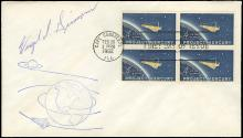 1962 GUS GRISSOM SIGNED PROJECT MERCURY FDC