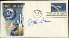 1962-87 JOHN GLENN SIGNED COVERS (x27)