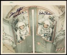 GT-6A 1965 CREW SIGNED NASA PHOTOS (x3)