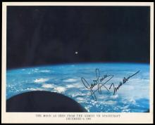 GT-7 1965 CREW SIGNED NASA COLOR LITHO