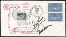 GT-7 1968 CREW SIGNED TOPEX '68 COVERS (x3)