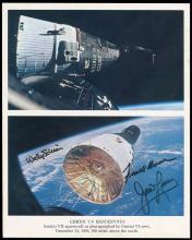 GT-7/6A 1965 FULL CREW SIGNED NASA LITHO