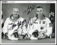 GT-9A 1966 CREW SIGNED NASA PHOTOS (x5)