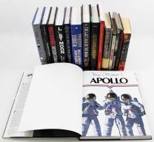 1974-2011 APOLLO ASTRONAUTS SIGNED BOOKS (x15)