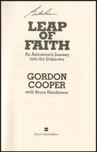 2000 'LEAP OF FAITH' BOOKS SIGNED BY GORDON COOPER (x5)