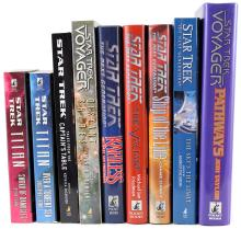 1960s-2010s STAR TREK BOOK COLLECTION (x850+)