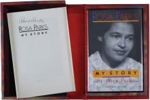 1992 'MY STORY' BY ROSA PARKS SIGNED FIRST EDITION