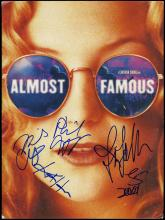 2000 'ALMOST FAMOUS' SIGNED PRESS KIT W/ FOUR SIGNATURES
