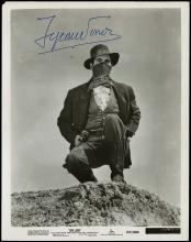 1951 TYRONE POWER SIGNED PUBLICITY STILL