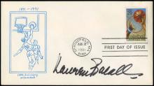 1940s-80s HOLLYWOOD ENTERTAINERS SIGNED COVERS (x76)