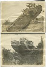 1916-30s 'ROUGH NECK' PHOTOS, EARLY TANKS, STEAM SHOVELS, OTHERS