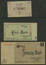 GERMANY 1941-44 CONCENTRATION CAMP MAIL