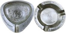 1940s HOLOCAUST ASHTRAYS (x2)