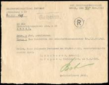 1942 ESTONIAN POLICE SECRET 'SPECIAL TREATMENT' DOCUMENT
