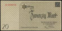 LITZMANNSTADT c.1940 CURRENCY & COINS