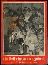 1935-39 HITLER PROPAGANDA BOOKS (x5)