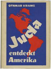 1938 BOOK 'JUDA ENTDECKT AMERIKA'