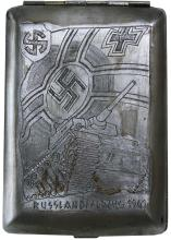 1941 WAFFEN SS DIVISION 'VIKING' CIGARETTE CASE