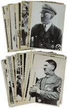 1933-45 ADOLF HITLER PHOTO PRINTS FROM UKRAINIAN MVD ARCHIVES (x43)