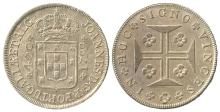 PORTUGAL 1799 JOAO AS PRINCE REGENT 400r SILVER