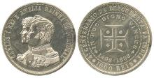 PORTUGAL 1898 SET OF 3 COINS TO CELEBRATE 400th ANNIVERSARY OF DISCOVERY OF INDIA