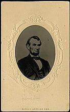 1863 LINCOLN PHOTOGRAPH CARTE DE VISITE