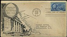 1946 HARRY TRUMAN AUTOGRAPHED FDR FDC