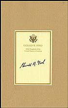 1970s-80s GERALD FORD SIGNED BOOKS (x4)