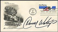 1978 RACE CAR DRIVERS SIGNED COVERS (x18)