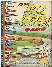 1950s-80s ALL STAR GAME PROGRAMS (x7)