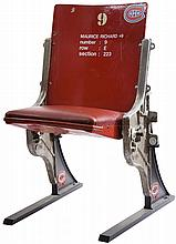 1924-96 MONTREAL FORUM SINGLE RED SEAT
