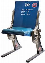 1924-96 MONTREAL FORUM SINGLE BLUE SEAT