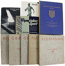 1936 BERLIN OLYMPICS GROUP OF PUBLICATIONS (x10)