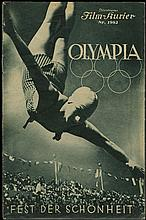 1936 OLYMPIC GAMES RIEFENSTAHL FILM BROCHURES (x4)